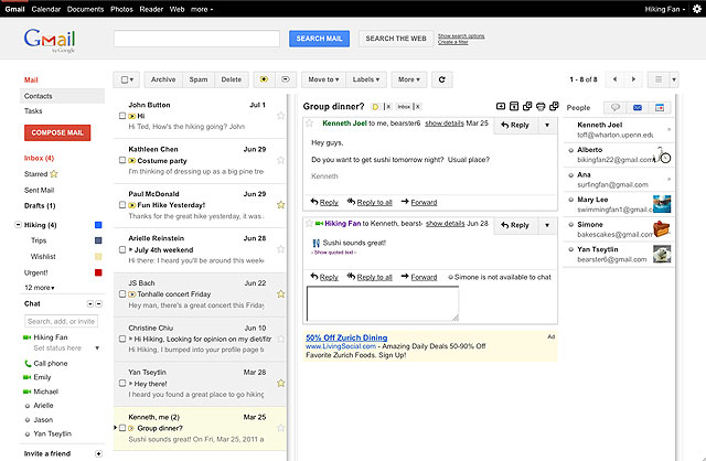 How to Enable Outlook Like Reading Pane in Gmail